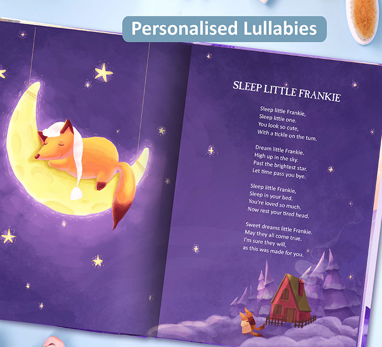 Nursery Rhymes And Lullabies Book Personalised