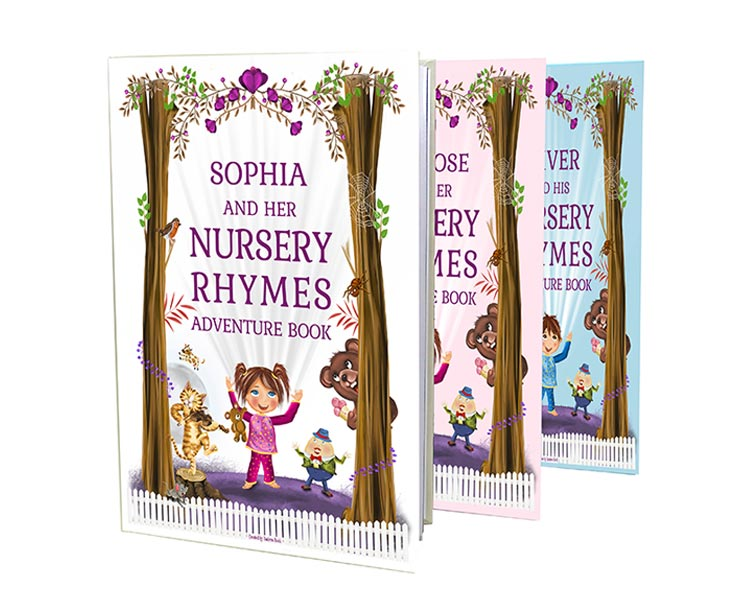 My Magic Name Personalised My Nursery Rhymes and Poems Childrens Book
