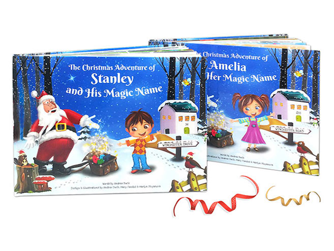 Personalised Childrens Christmas Story Book by My Magic Name