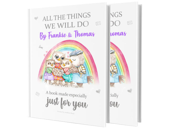 Personalised Gift Book For Grandparents