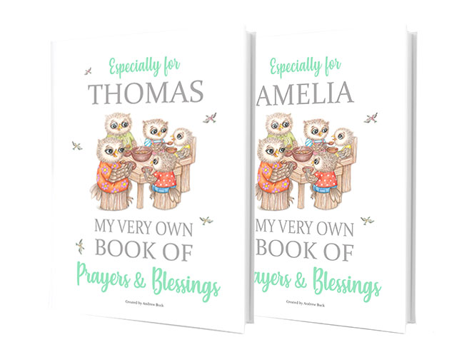 Children's Prayers and Blessing Gift Book