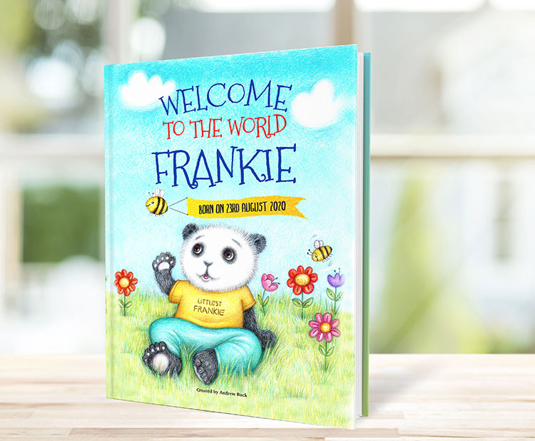 Personalised Welcome ToThe World Book for New Parents
