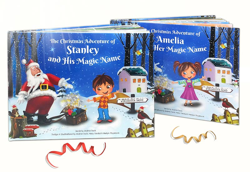 My Magic Name Personalised Christmas Story Book